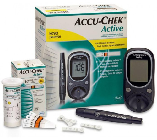 Accu Chek Active+10 strip